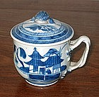 Chinese Export Canton Syllabub or Creme Pot