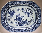 Chinese Export Meat Platter - Qianlong Period