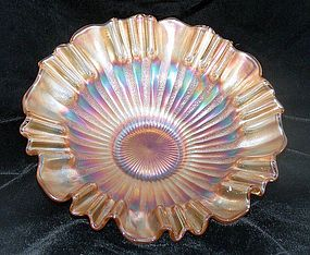 Fenton Vintage Stipple Ray 3 in 1 Carnival Glass Bowl