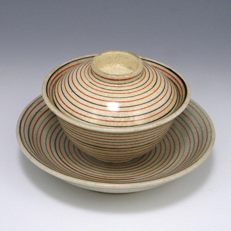 OKUMURA SHOZAN Japanese Kyoto Studio Pottery Bowl