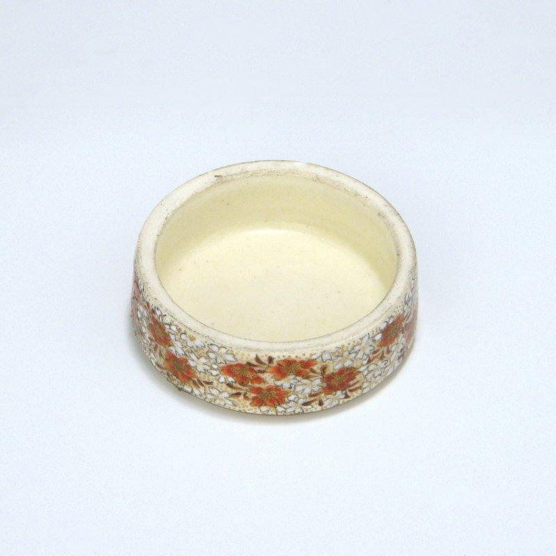 Yabu Meizan Japanese Satsuma Meiji Hexagonal Tea Jar
