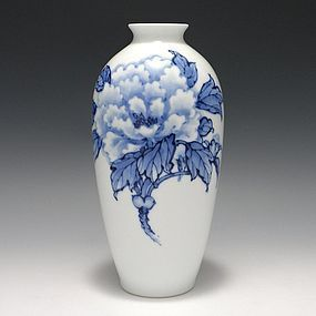 Yozan - Nakazato Suetaro Japanese Hirado Vase