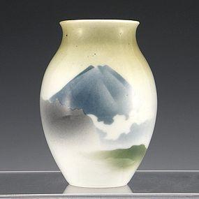 Nishiura Enji V Japanese Seto Fuji Vase