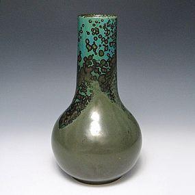 Okumura Shozan Meiji Japanese Kyoto Vase