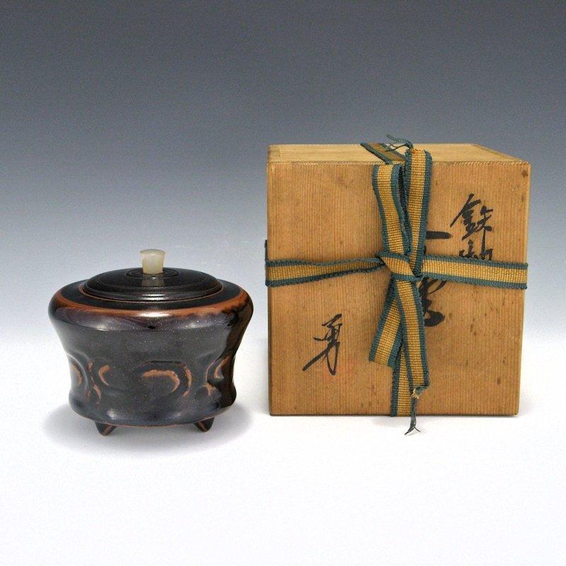 Isamu Hasegawa Japanese Koro with Box