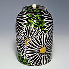 Seifu Yohei III Kenzan Style Stoneware Tea Jar