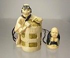 HODO, Contemporary Japanese Netsuke Set, Kiyohime
