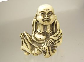 18th Century Japanese Netsuke � Hotei