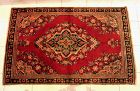 Antique Persian Lilihan Hand Knottled Rug, Circa1920