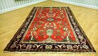 Antique Persian Qom - Tree of life- Hand Knotted Rug, Circa 1920