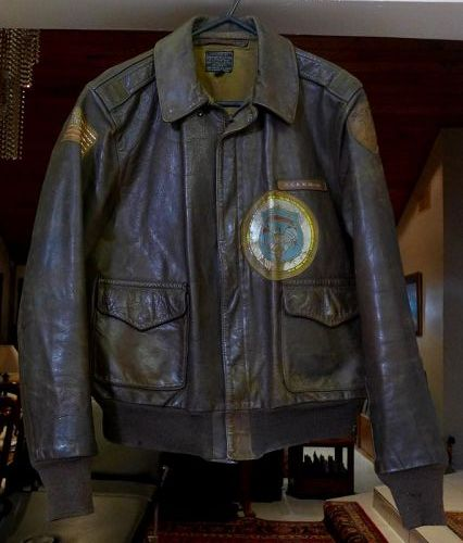 WWII Original Exc Preserved, US Army Air Corps Named A2 Flight Jacket