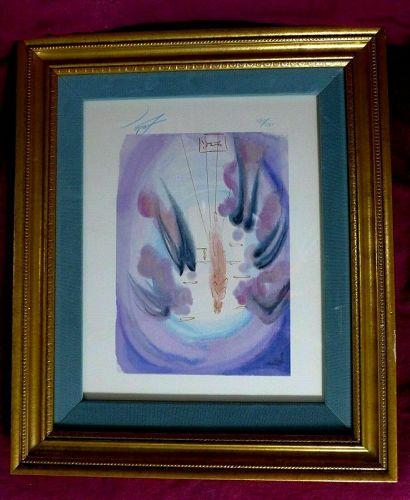 """ORIGINAL SALVADOR DALI """"Paradise 24"""" from the Divine Comedy-1960-64, H"""