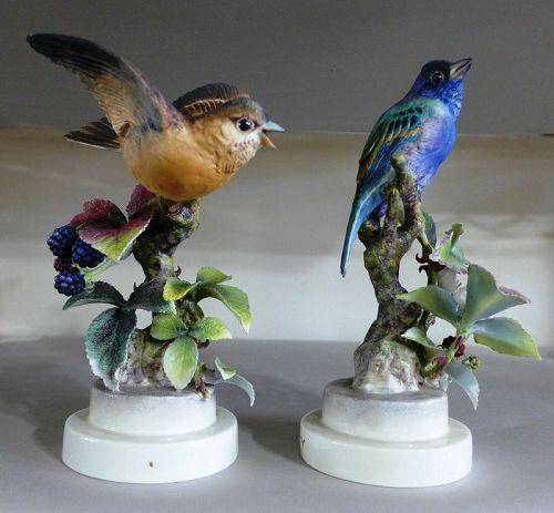 Royal Worcester Dorothy Doughty Birds - 1941