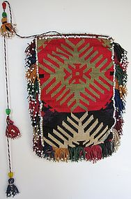 A small Uzbek Lakai pouch from northern Afghanistan