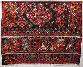 A wedding shawl from Indus Kohistan - Pakistan