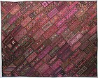 A patchwork quilt from Sindh province, Pakistan