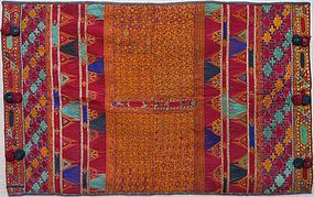 A Kakarh table cloth from Afghanistan