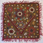 A Lakai Uzbek embroidered panel - mid 20th century