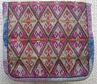 A finely embroidered Hazara purse from Bamiyan province