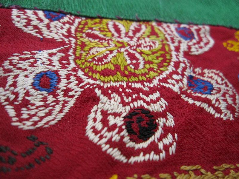 A saye gosha from northern Afghanistan - Uzbek Lakai