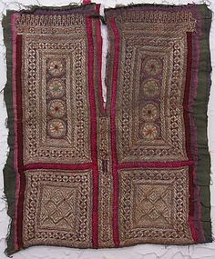 A child's dress front from Afghanistan mid 20th century