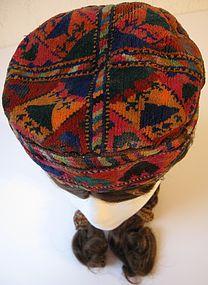 An Uzbek cap - mid 20th century