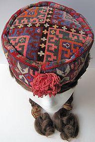 An Uzbek woman's cap from Afghanistan