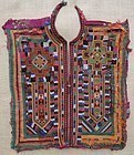 A Baluchi woman's dress front, mid 20th century