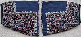 A pair of women's ankle bands from Turkmenistan