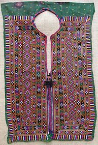 A dress panel from Baluchistan, mid 20th century