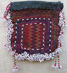 A tobacco pouch from Indus Kohistan