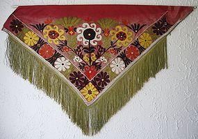 An Uzbek Lakai textile (segusha) - mid 20th century
