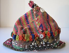 A child's cap from Indus Kohistan, northern Pakistan