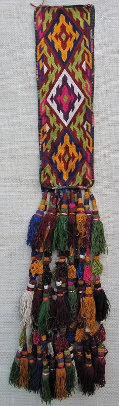 A yurt ornament from northern Afghanistan