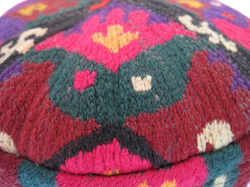 A child's hat from northern Afghanistan - Uzbek