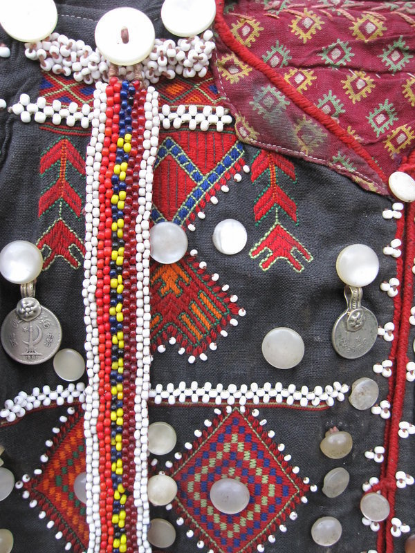 A child's waistcoat from Indus Kohistan