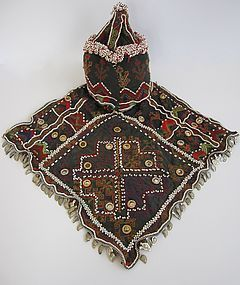 A child's hat from Indus Kohistan - mid 20th century