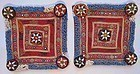 A pair of dowry textiles