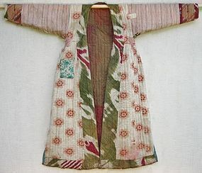 An Uzbek chapan - late 20th century
