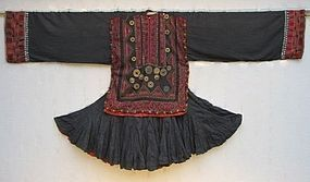 A woman's dress (jumlo) from Swat Kohistan