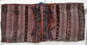 A Baluchi saddle bag, mid 20th century