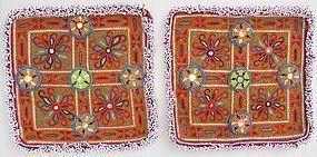 A pair of Pashtun dowry textiles