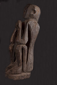Old Himalayan Primitive Figure N°41, Himalaya