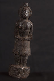 Small figure of deity, India, Himalaya