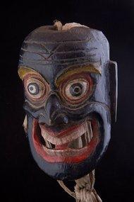 Boudhist himalayan mask, Himalaya, Tibet