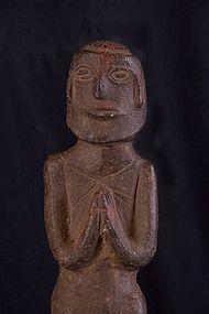 Stone primitive figure, Nepal, Himalaya