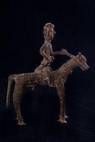 Old shamanic bronze N°9, Himalaya, Nepal