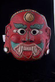 Lakhe mask , Himalaya, Nepal