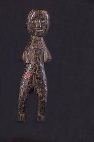 Fine small wooden figure, Nepal, Himalaya