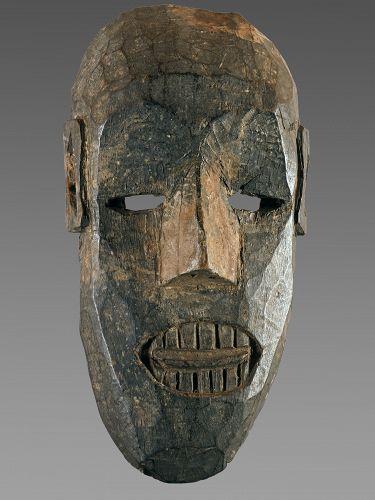 Important primitive mask, Nepal, Himalaya